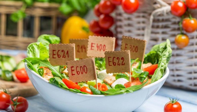 Пищевые добавки для усиления вкуса, артомата, добавки-загустители