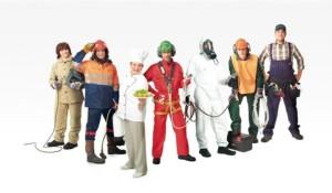Пять групп интенсивности труда